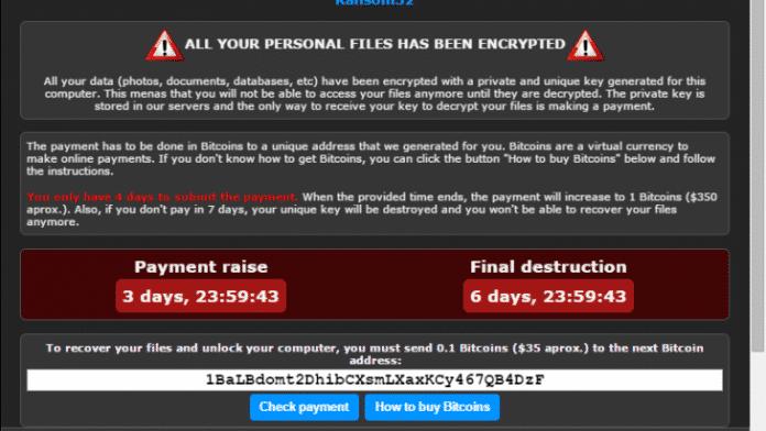 Erste Sichtung: Erpressungstrojaner Ransom32 aufgrund JavaScript noch bedrohlicher