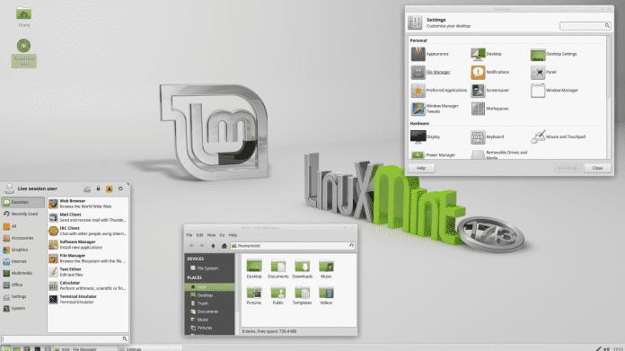 Linux Mint 17.3 Xfce Edition