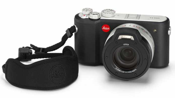 Leica X-U: Wetterfeste APS-C-Kompakte