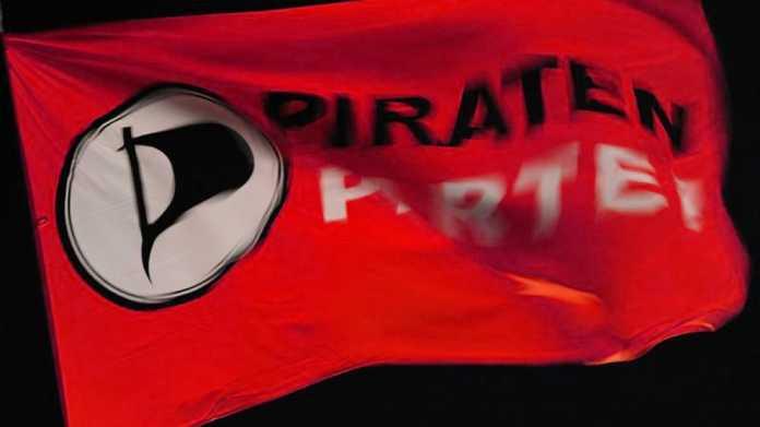 Piratenpartei-Flagge