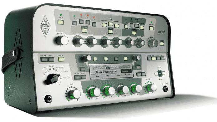Kemper-Amp wechselt nahtlos zwischen Sounds
