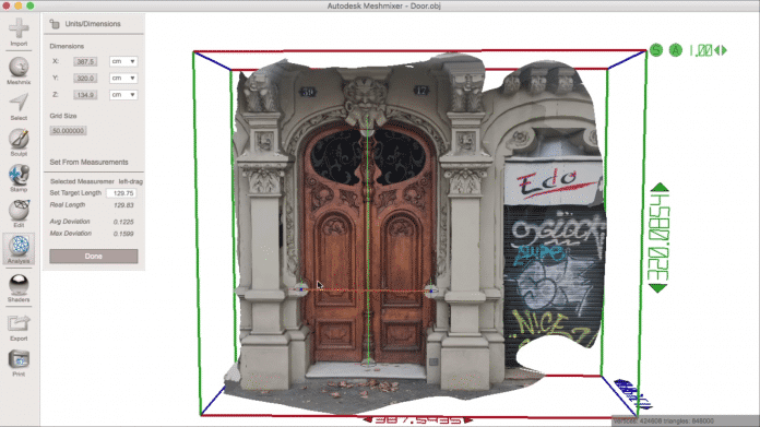 Autodesk Meshmixer 3D-Software gratis