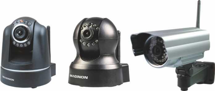 Die bei Aldi und Hofer angebotenen IP-Kameras Maginon IPC-10 AC, IPC-100 AC und IPC-20 C sind in großer Stückzahl ohne Passwort über das Internet steuerbar.