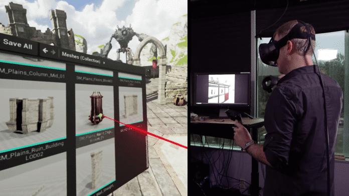 Unreal Engine 4: Level bauen in der virtuellen Realität