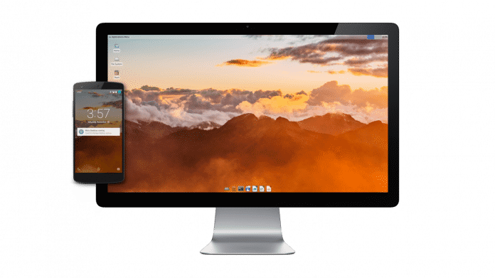 PC-Desktop im Android-Handy