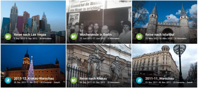 Google Fotos übernimmt das Erbe von Picasa. Wie der Vorgänger analysiert es Bilder und erstellt daraus zum Beispiel selbstständig Alben.