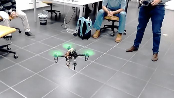 Raspberry Pi Zero Quadrocopter