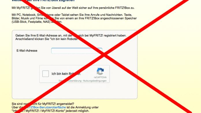 Fritzbox-Router: DynDNS-Dienst MyFritz ausgefallen