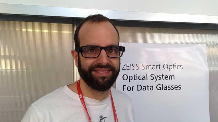 MWC 2016: Smart-Glasses-Prototyp von Zeiss