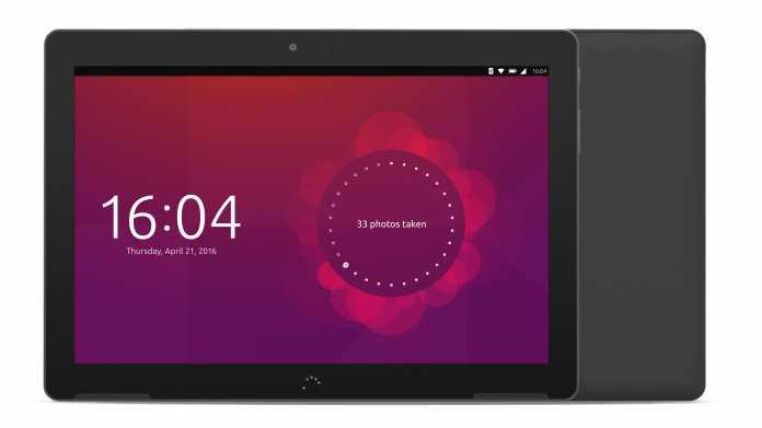 Ubuntu-Tablet bq Aquaris M10