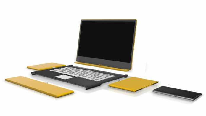Modularer Laptop Pangea Sun