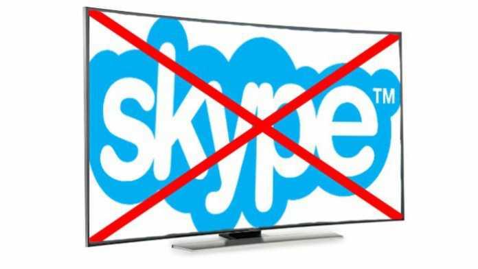 Microsoft stoppt Entwicklung für Skype auf TV-Geräten