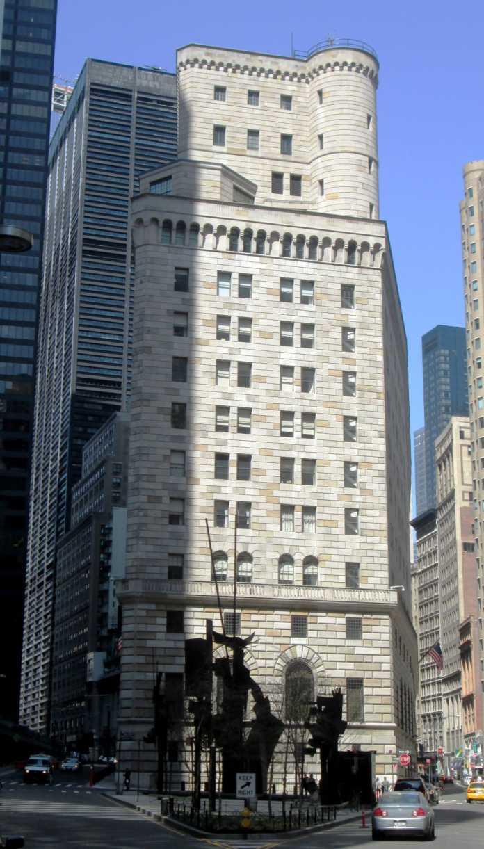 Gebäude der Fed in NY