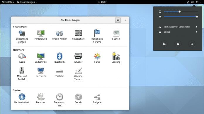 Gnome 3.20 freigegeben: Wayland-Support wird alltagstauglich