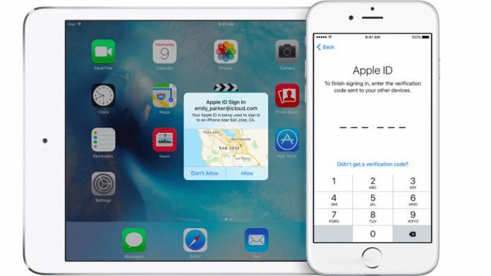 Apple Zwei-Faktor-Authentifizierung