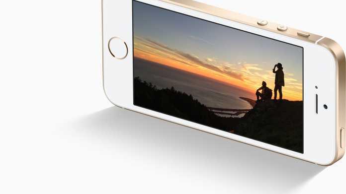 """Bericht: Was das """"SE"""" beim iPhone SE hei?t"""