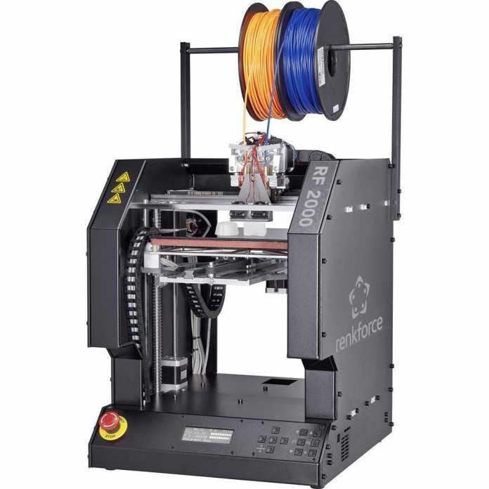 3D-Drucker Renkforce RF2000 von Conrad im Test