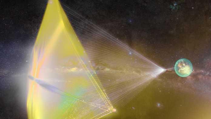 """""""Breakthrough Starshot"""": Tausende Nanoraumschiffe in 20 Jahren zu Alpha Centauri"""