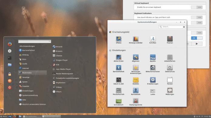 Cinnamon 3 unter Ubuntu 16.04