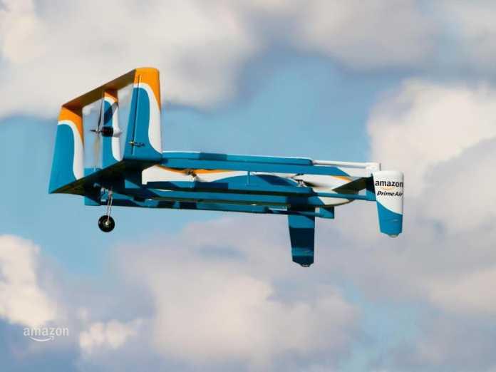 Fixed-Wing-Drohne von Amazon