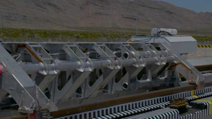 Menschen-Rohrpost: Hyperloop One führt seine Technik vor