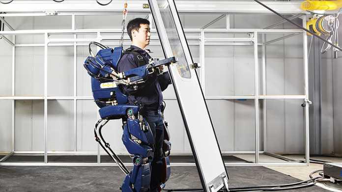 """Iron Mans Anzug"": Hyundai arbeitet an Roboter zum Anziehen"