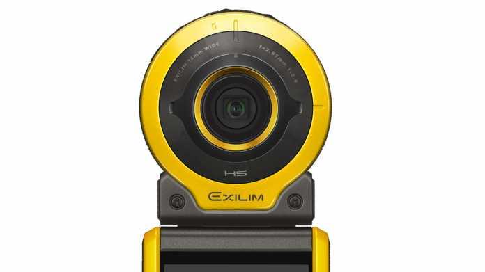Exilim EX-FR100: Casio bringt nach Pause Outdoor-Kamera