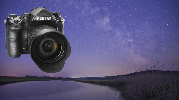 Astrofotografie, Pentax K-1