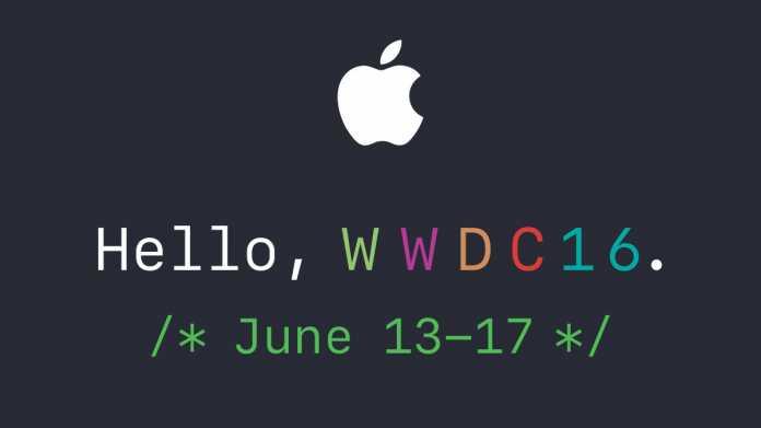 Neue Produkte: Apple lädt zur Keynote am 13. Juni