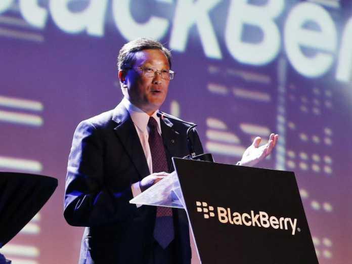 Blackberry-Chef John Chen