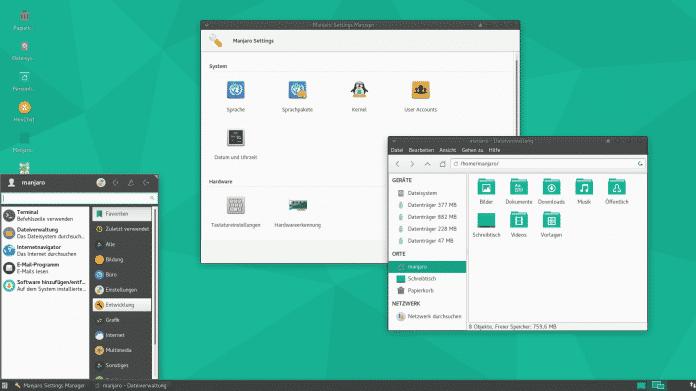 Manjaro Xfce 16.06.1