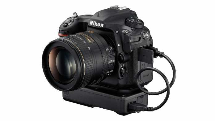 Nikon D500 mit WLAN-Adapter WT7