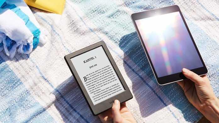 Kindle überarbeitet: Amazons günstigster E-Reader dünner und mit mehr Speicher