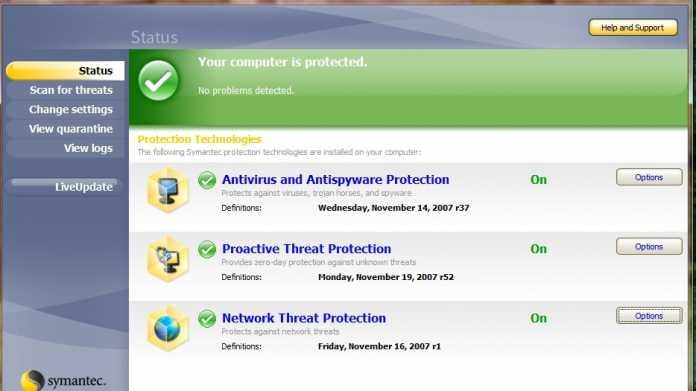 Kritische Lücken in fast allen Antiviren-Produkte von Symantec und Norton