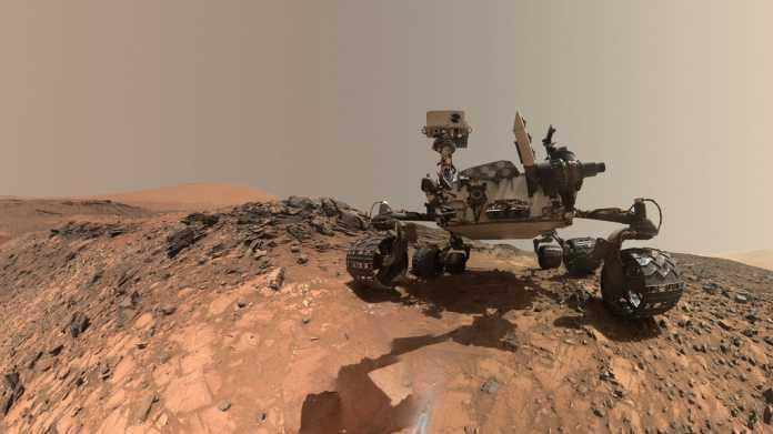 Software-Fehler: Mars-Rover Curiosity im Sicherheitsmodus