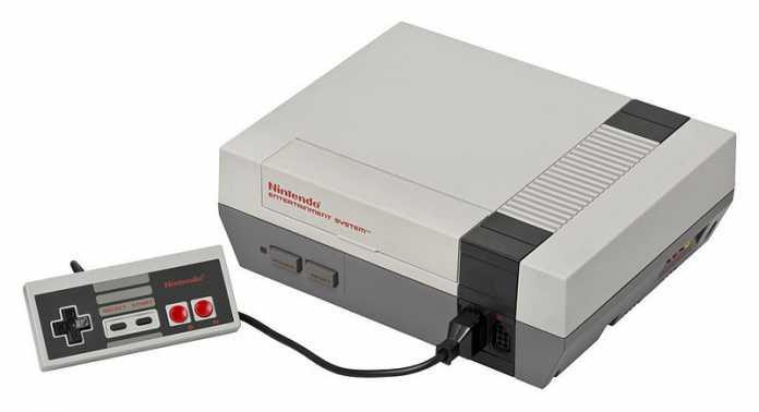 """Die """"große"""" NES aus den 1980ern."""
