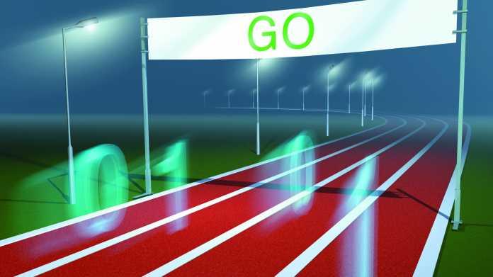 Funktionale Programmiersprache für das Go-System
