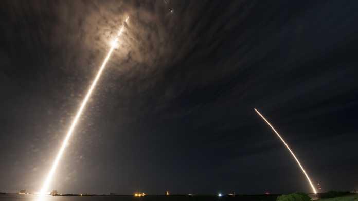 SpaceX: Bereits vierte Landung einer gestarteten Rakete geglückt