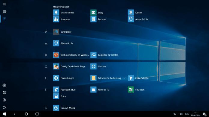 Windows 10: Anniversary Update ist verfügbar