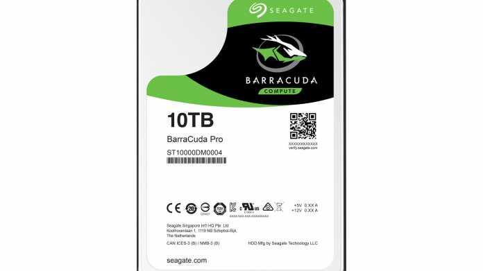 Seagate teasert 12-TByte-Festplatte an