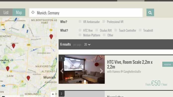 """""""Airbnb für Virtual Reality"""": NearbyVR startet Testphase"""