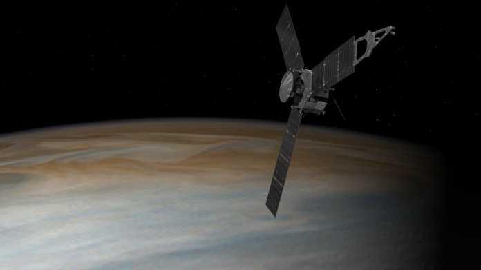 Nordpol des Jupiter völlig anders als erwartet