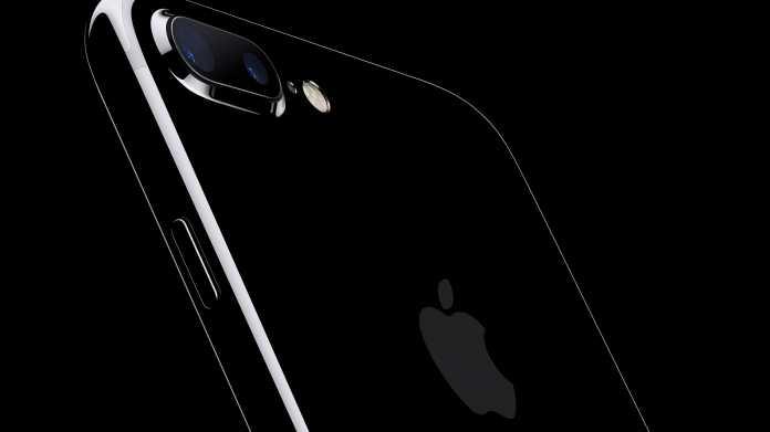 """iPhone 7 in """"Diamantschwarz"""": Apple warnt vor Kratzanfälligkeit"""