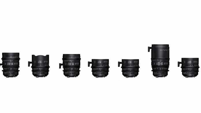 Sigma-Cine-Objektive für Canon EF- und Sony-E-Anschluss