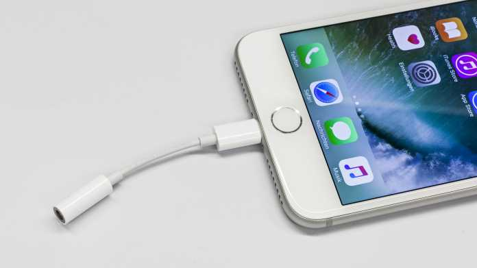 iPhone 7 Lightning-Adapter
