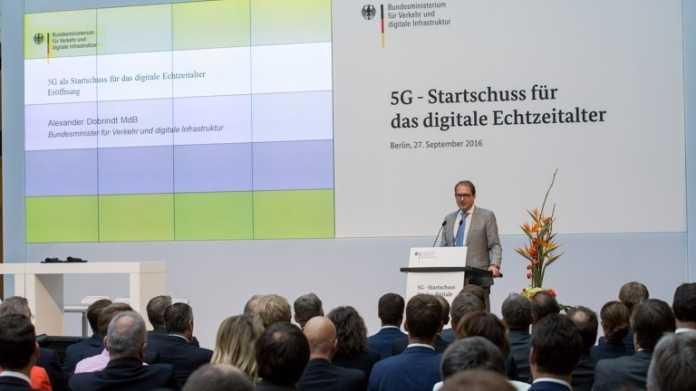 """Mobilfunk: Infrastrukturminister Dobrindt kündigt """"5 Schritte zu 5G"""" an"""