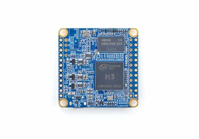 Gleich geblieben ist die Basis: ein Allwinner-H3-SoC mit einem sparsam angebundenen DDR3-Chip.