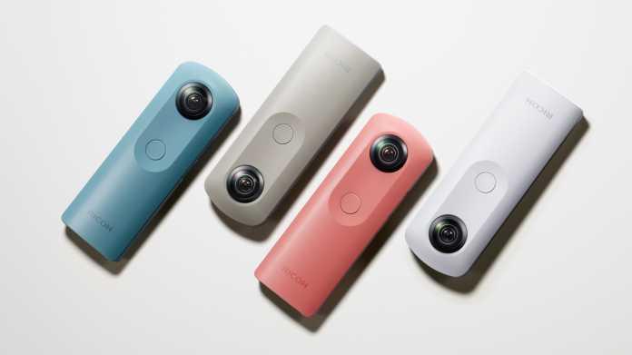 360-Grad-Kamera: Ricoh Theta SC vorgestellt