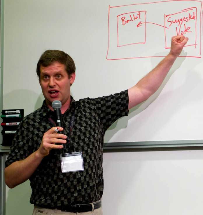 Eugene Volokh bei Vortrag 2008