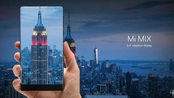 Xiaomi bringt Smartphone mit nahezu randlosem Display